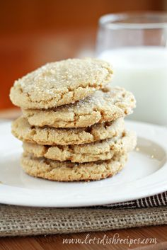 Browned Butter Sugar Cookies: These are one of the best (quite possibly the best) cookies I have ever made. The browned butter makes all the difference in the world.
