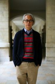 Style Profile…. Mr. Kurino. Nice sweater and jacket.