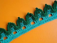 Вязание крючком Урок 273 Кайма Crochet edging