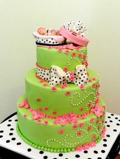 its a girl!- Baby shower cake