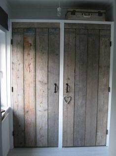 closet doors for my bedroom! Bedroom Wardrobe, Wardrobe Closet, Built In Wardrobe, Closet Doors, Wardrobe Ideas, Alcove Wardrobe, Pallet Wardrobe, Pallet Closet, Master Bedroom