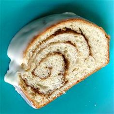 Cinnamon Swirl Bread - I posted this recipe at Allrecipes and I've had two great reviews.  So glad people are enjoying this recipe that we love.
