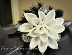 Diamonds in the sky Bridal Bouquet / by TouchOfEleganceByDel, $240.00