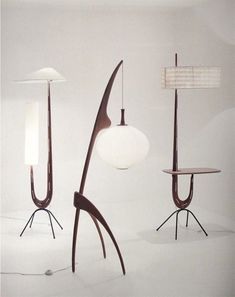 I'd love to find one of these 1950s Lamps!