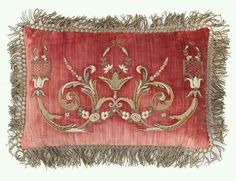 luscious antique textile pillow ~*~