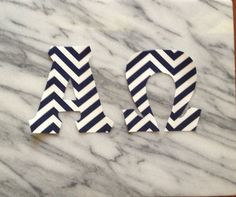 Your place to buy and sell all things handmade Delta Chi, Sorority Letters, Chevron Fabric, Chi Omega, Photo Tutorial, Navy And White, Greek, Iron, Lettering