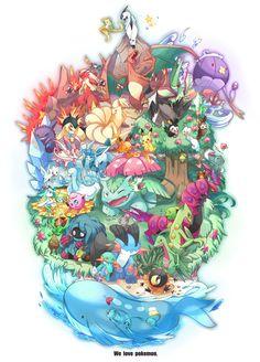 Tags: Fanart, Pokémon, Pikachu, Glaceon, Togetic, Flygon, Luvdisc, Marshtomp, Mudkip, Drifblim, Gengar, Magnemite, Jigglypuff, Ninetales, Pachirisu, Jirachi, Turtwig, Charizard, Venusaur, Typhlosion, Drifloon, Absol, Altaria, Blaziken, Chinchou, Grovyle, Gulpin, Manaphy, Sceptile, Shaymin, Swampert, Rotom, Minccino, Kirlia, Celebi, Sneasel, Wailord, Emolga, Staraptor, Phione, Tangrowth, Bonsly, Scolipede, Sewaddle, Shaymin (Sky Form), Sylveon, Dedenne, Heliolisk,