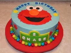 great Elmo cake
