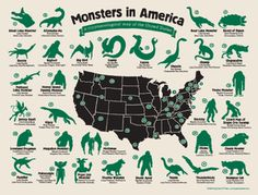 Image of Monster Map