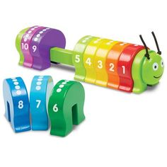 Buy our Counting Caterpillar by Melissa & Doug available now at Mulberry Bush. Suitable for children aged 2+. Order now with Free Delivery over £75