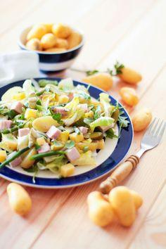 """Un """"Flo"""" de bonnes choses » Salade parisienne aux pommes de terre Délicatesse"""