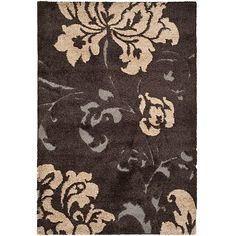 This plush shag rug is colorful and contemporary. It offers a great modern design with hints of beige and brow. Use this rug to complement similar color schemes and a variety of room furnishings. The hand-woven detail makes this rug a terrific accent.