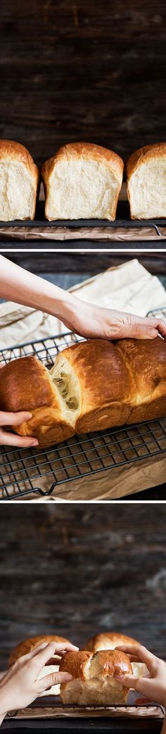 This Japanese milk bread is the softest, lightest & fluffiest bread ever. Easily convert your regular bread recipe & you will never look back. I guarantee.: