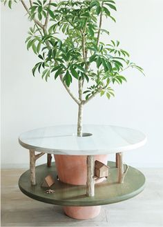 real tree table