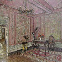 Musiksalon von August von Brandis, German Impressionism