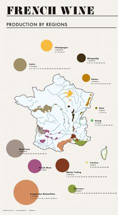 Infographic   Where Does French Wine Come From? #Wine #France