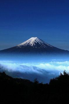 Mount Fuji. Beautiful -  loved it in Japan