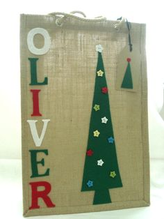 Personalised Christmas Gift Bag 501a9ce26638d