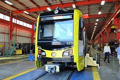 After 27 years of service on the Los Angeles County Metropolitan Transportation Authority's (Metro) Blue Line, the original Nippon Sharyo P865 rail cars are being replaced with new Kinkisharyo P3010 cars.