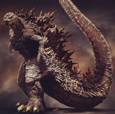 Godzilla Movie / Monsterverse News: Last week we showcased an unofficial fan project by long time member and popular zBrush artist Dopepope. Fan reaction to his - Godzilla vs. Kong 2020 News, Gojira Toho Movie News All Godzilla Monsters, Cool Monsters, Classic Monsters, Big Lizard, Monster Pictures, Godzilla Wallpaper, Monster Art, King Kong, Fantasy Creatures