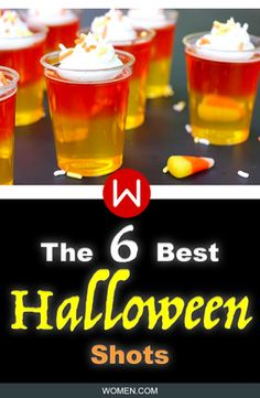 If you're looking for the best Halloween jello shots look no further, these jello shots are great for that Halloween party and Easy Halloween Cocktails, Halloween Bunco, Halloween Jello Shots, Halloween Stuff, Spooky Halloween, Alcohol Jello Shots, Whipped Vodka, Cake Vodka, Halloween