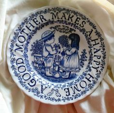 Mothers Day Plate Staffordshire England Royal Crownford by Norma Sherman A tribute to mothers all year long Mothers Day Gift by VintageVarietyFinds on Etsy