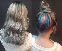 Rainbow hair!!