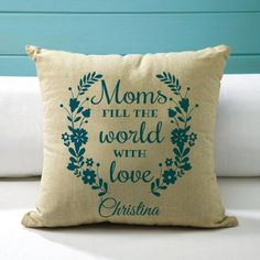 Mother Personalized Pillow $34.99           Now$29.99