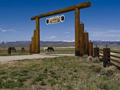 Boot Jack Ranch Entry Gate. Photo by Dave Bell.