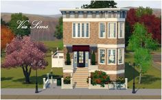 Sims 3 Finds - Victorian Home at Via Sims
