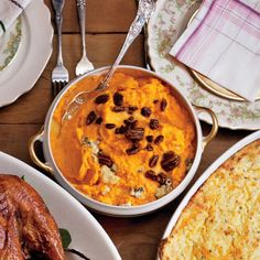 Sweet Potatoes with Blue Cheese and Pecans
