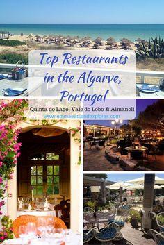 Top Restaurants in the Algarve, Portugal - Quinta do Lago, Vale do Lobo & Almancil by Emma Eats & Explores
