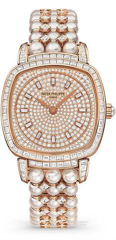 Patek Philippe Diamonds and Pearls Watch | Fashion Jewellery Watches | Rosamaria G Frangini