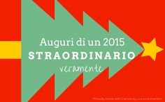 Auguri buone feste 2015 - italiano