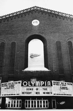 The Olympia, Detroit.history 101 with Davinci the Detroit dog Detroit Riots, Detroit Hockey, Detroit Area, Detroit News, Metro Detroit, Visit Detroit, Flint Michigan, State Of Michigan, Detroit Michigan