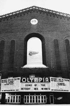 Olympia Stadium | Vintage Detroit | Detroit News - Incredible archive of photos