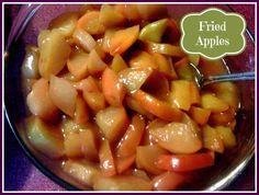 Sweet Tea and Cornbread: Fried Apples...Cracker Barrel Style!