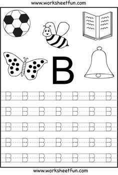 free printable letter tracing worksheets for kindergarten 26 worksheets - Free Printable Worksheets For Kids