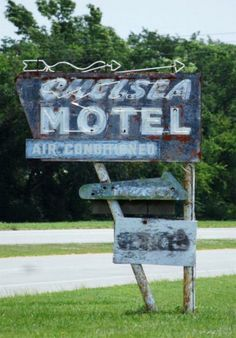 Chelsea Motel, Route 66 - Chelsea, Oklahoma