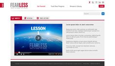 Fearless by Lion Nook, via Behance