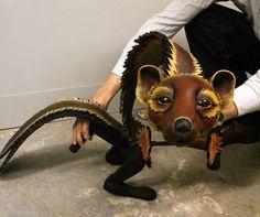 His Dark Materials Puppets - Blind Summit Theatre - Picasa Web Albums Pan I love the face! Bird Puppet, Marionette Puppet, Puppet Costume, His Dark Materials, Puppet Making, Shadow Puppets, The Little Prince, Monster High Dolls, Sculpture Art