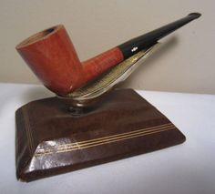 Vintage KBB Yello Bole Premier Propeller Logo Dublin Briar Estate Tobacco Pipe