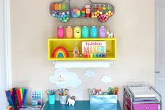 How to Create an Art and Crafting Space for Kids | OOLY