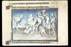 Publius Papinius Statius Thebais , with the argumenta antiqua; Achilleis, Francja, ok. 1405, f17