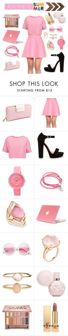 """""""Pink Lady"""" by ayanna2016 ❤ liked on Polyvore featuring Marni, Crayo, Oxford Ivy, Stephen Webster, ZeroUV, Goshwara, Accessorize, Urban Decay, Yves Saint Laurent and WALL"""