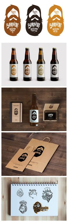 BARBIÉRE BEER #Branding #Packaging