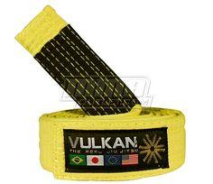 Vulkan Kids Jiu Jitsu Belt M3, Yellow by Vulkan. $19.98. The Vulkan Kids Jiu Jitsu Belt is an authentic jiu jitsu belt for future fighters! M1 - 1,90 meters/75 inchesM2 - 2,00 meters/80 inchesM3 - 2,20 meters/86 inchesColors: White, Orange, Yellow, GreenMade in Brazil 100% Cotton