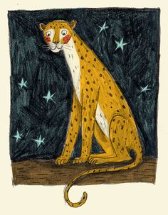 Leopard by Briony May Smith, an Illustrator living in Berkshire artist's work is available on Etsy!