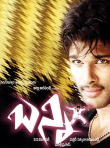 hindi dubbed movies of allu arjun - bunny poster