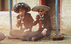 Black Keys. #TheBlackKeys #patrickcarney #danauerbach #mexico #beer